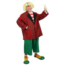 costume clown Auguste homme