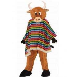 Mascotte taureau mexicain