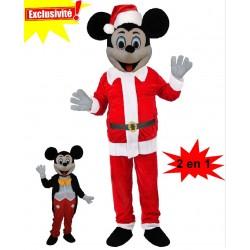 Mascotte Mickey Noël (2en1)