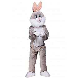 mascotte de lapin Gris