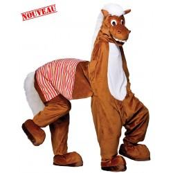 Mascotte Cheval 2 personnes