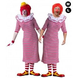 Costume de clown mixte
