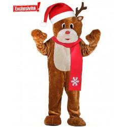 Mascotte de Renne Noël (JUMBO)