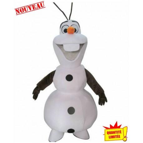 Mascotte Reine de neiges OLAF