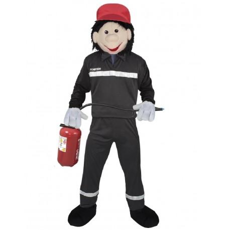 Mascotte de Pompier