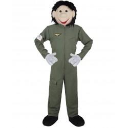 Mascotte de pilote Aviateur