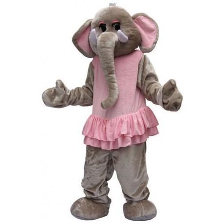 Mascotte d'Eléphant tutu