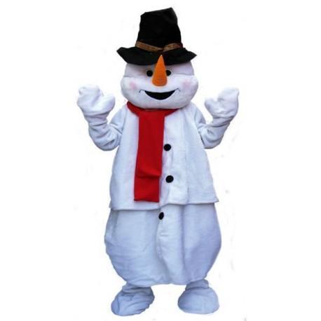 Mascotte de Bonhomme de neige