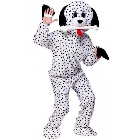 mascotte de chien Dalmatien