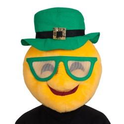 Tête de mascotte de Saint Patrick