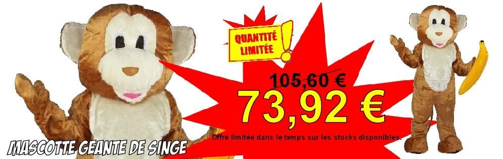 Promotion mascotte de singe
